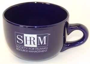 SHRM Blue Large Coffee Mug