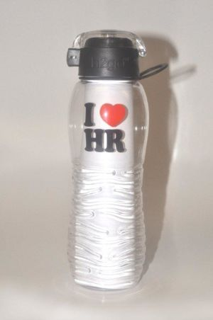 I Love HR Water Bottle