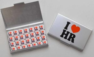 I Love HR Business Card Holder/Mint Case