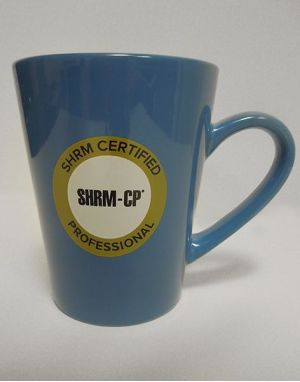 New SHRM-CP Ceramic Coffee Mug