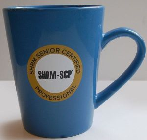 New SHRM-SCP Coffee Mug