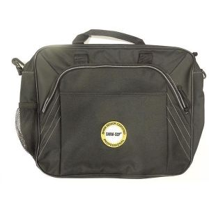 Saddle Briefcase with SHRM-SCP New Logo