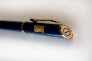 Twist Action Ballpoint Pen with SHRM-SCP Logo