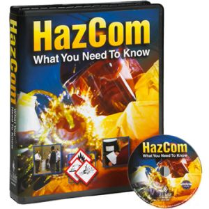 OSHA Required Safety Training: Hazard Communication: Regulation and Risk - DVD Training