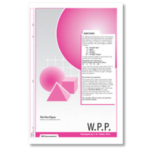 Workplace Personality Profile (WPP)