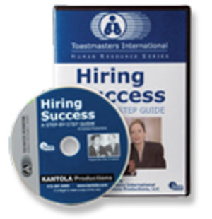 Hiring Success: A Step-by-Step Guide (DVD)