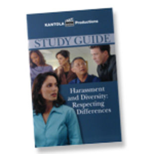 Harassment and Diversity: Respecting Differences -- Manager's Study Guide
