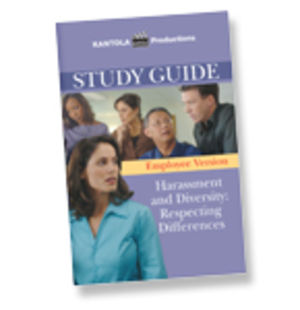 Harassment and Diversity: Respecting Differences -- Employee's Study Guide