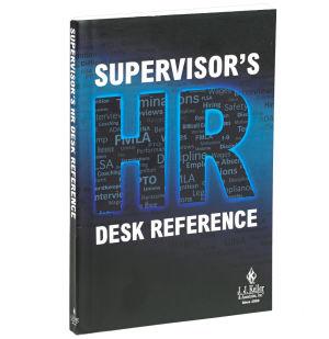Supervisor's HR Desk Reference