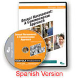Sexual Harassment: A Commonsense Approach -- Spanish Manager Edition