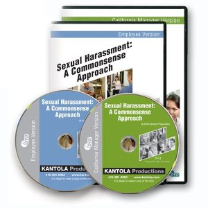 Sexual Harassment: A Commonsense Approach -- Employee/ California Manager Combo Package