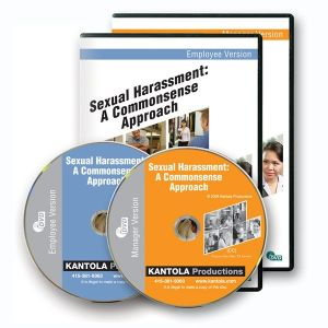 Sexual Harassment: A Commonsense Approach -- Employee/ Manager Combo Package