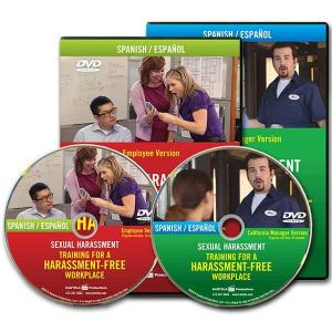 Sexual Harassment: Training for a Harassment-Free Workplace DVD Series — Employee/California Manager Package (Spanish)
