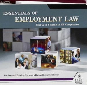 Employment Law Essentials Manual + Online Edition with 1-Year Update Service