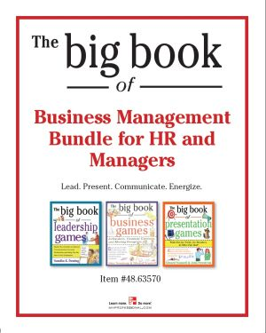 The Big Book of Business Management Bundle for HR and Managers