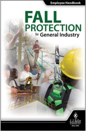 Fall Protection for General Industry Employee Handbook (English)
