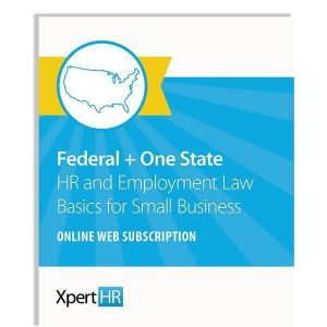 HR and Employment Law Basics for Small Business-Online Subscription