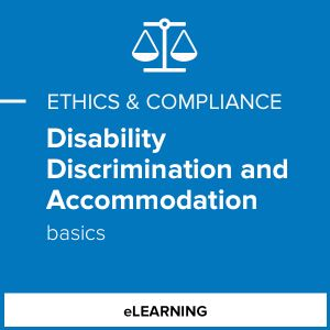Disability Discrimination and Accommodation Basics