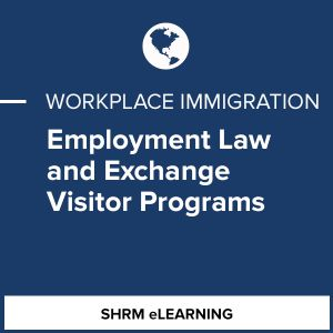 Employment Law and Exchange Visitor Programs