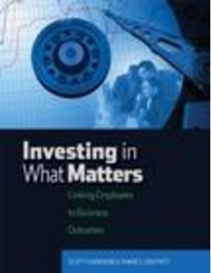 Investing in What Matters
