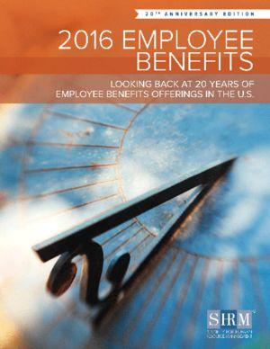 2016 Employee Benefits: Looking Back Twenty Years at Employee Benefits Offerings in the U.S.