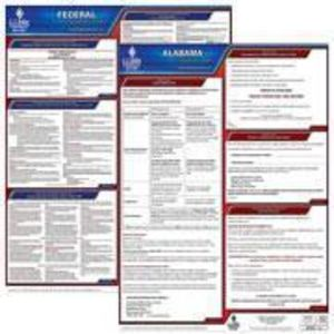 Alabama & Federal Labor Law Poster Set with 1 Year Update Service -- Spanish Version