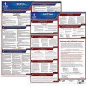 Arizona and Federal Labor Law Posters with 1-Year Update Service -- English Version