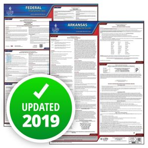 Arkansas and Federal Labor Law Poster Set with 1-Year Update Service -- Spanish Version