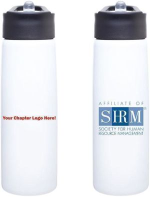 'Affiliate of SHRM' Water Bottle -- Set of 50