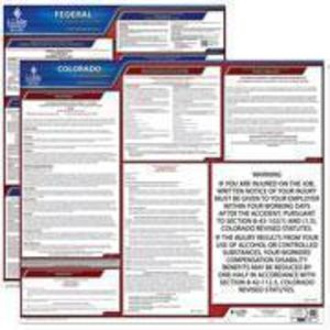 Colorado and Federal Labor Law Poster Set with 1-Year Update Service -- English Version