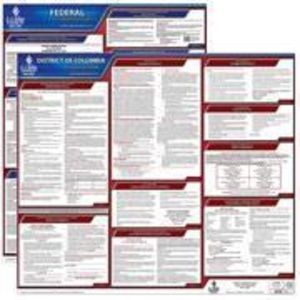 D.C. and Federal Labor Law Poster Set with 1-Year Update Service -- Spanish Version