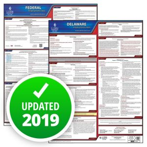 Delaware and Federal Labor Law Poster Set with 1-Year Update Service -- Spanish Version