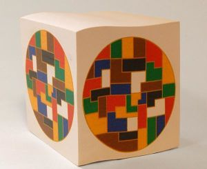 Sticky Note Cube with Diversity Logo