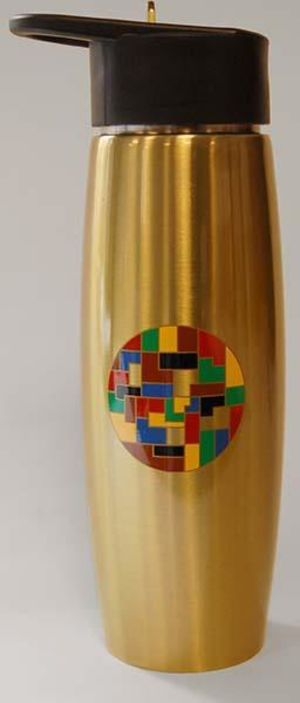 Diversity Mosaic Stainless Steel Water Bottle
