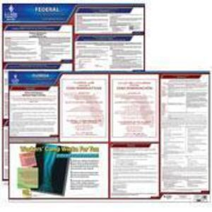 Florida and Federal Labor Law Poster Set with 1-Year Update Service -- Spanish Version