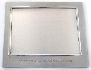 High Perceived Value Metal Certificate Holder