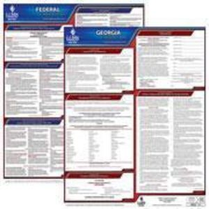 Georgia and Federal Labor Law Poster Set with 1-Year Update Service -- English Version