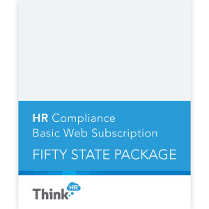 HR Compliance Basic -- **Fifty State Package Web Subscription**