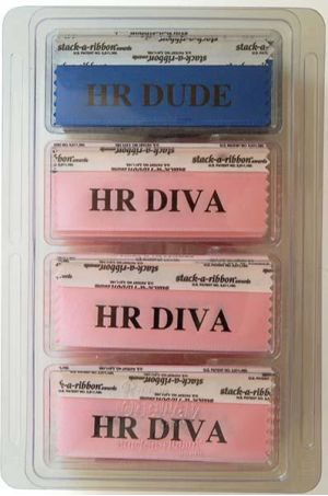 HR Diva/ HR Dude Ribbons Kit