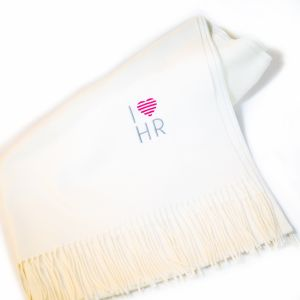 I Love HR Cream Pashmina