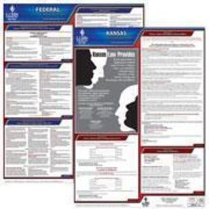 Kansas and Federal Labor Law Poster Set with 1-Year Update Service -- Spanish Version