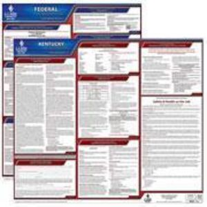Kentucky and Federal Labor Law Poster Set with 1-Year Update Service -- English Version