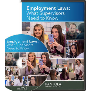 Employment Laws: What Supervisors Need to Know