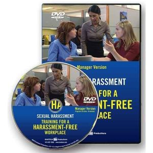 Sexual Harassment: Training for a Harassment-Free Workplace, DVD Series -- Manager Version