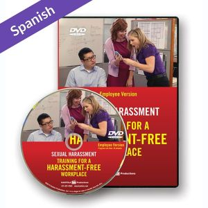 Sexual Harassment: Training for a Harassment-Free Workplace, DVD Series — Employee Version (Spanish)