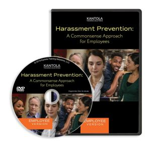Harassment Prevention: A Commonsense Approach DVD (employee version)