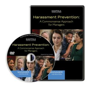 Harassment Prevention: A Commonsense Approach DVD (manager version)