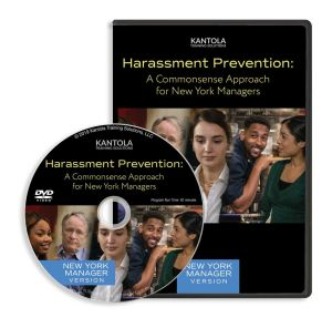 Harassment Prevention: A Commonsense Approach DVD (New York manager version)