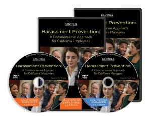 Harassment Prevention: A Commonsense Approach DVD (California employee-manager combo)
