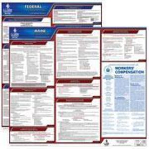 Maine and Federal Labor Law Poster Set with 1-Year Update Service -- Spanish Version